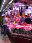 Mercat de Santa Caterinaの肉屋さん