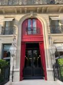 Hotel La Reserveの中に入っているLe Gabrielというミシュラン星付きレストランでディナー。